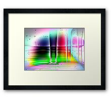 Glass Works-Available As Art Prints-Mugs,Cases,Duvets,T Shirts,Stickers,etc Framed Print