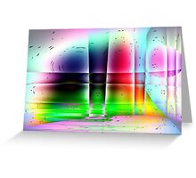 Glass Works-Available As Art Prints-Mugs,Cases,Duvets,T Shirts,Stickers,etc Greeting Card