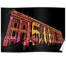 Parliament House Northern Lights Poster
