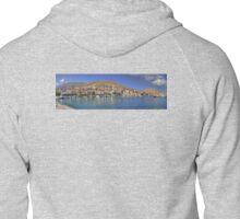 Halki Harbour View Zipped Hoodie