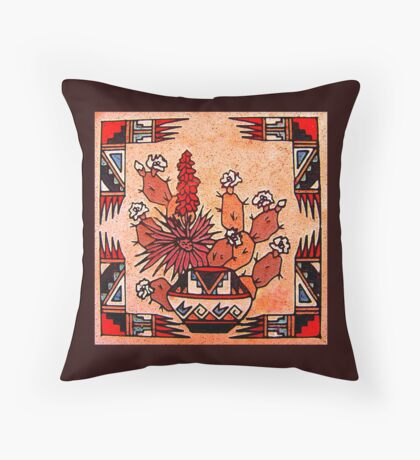 Southwest Spirit Throw Pillow