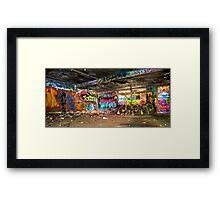 Miami Graffiti Framed Print