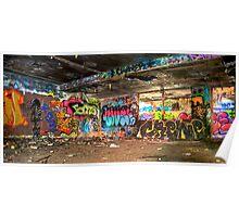 Miami Graffiti Poster