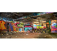 Miami Graffiti Photographic Print