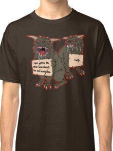 Terror Dog Shaming Classic T-Shirt