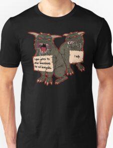 Terror Dog Shaming T-Shirt