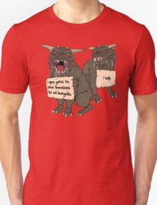 Terror Dog Shaming Unisex T-Shirt