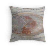 Mangrove jellyfish Throw Pillow