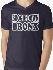 Boogie Down Bronx Mens V-Neck T-Shirt