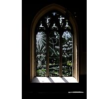 A window for Lawrence Photographic Print