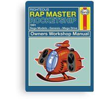 Rap Master Manual Canvas Print