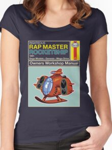 Rap Master Manual Women's Fitted Scoop T-Shirt
