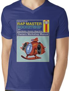 Rap Master Manual Mens V-Neck T-Shirt