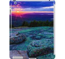 Sunset on Cadillac Mountain iPad Case/Skin