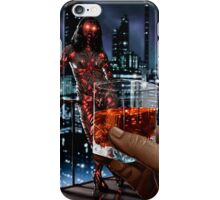 Cyberpunk Painting 057 iPhone Case/Skin