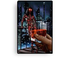 Cyberpunk Painting 057 Canvas Print