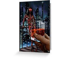 Cyberpunk Painting 057 Greeting Card