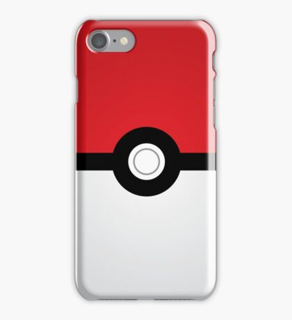 Pokeball Simplistic  iPhone Case/Skin