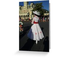 Jolly Holiday with Mary Greeting Card
