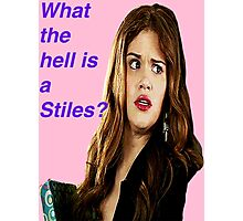 Lydia from Teen Wolf Photographic Print