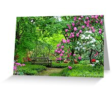 A Place For Two | Upper Brookville, New York Greeting Card