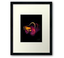 A Fractal Beauty Framed Print