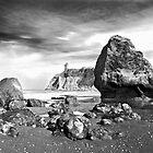 Abbey Island at Ruby Beach by Bryan Peterson