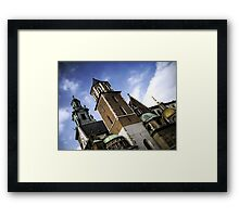 gothic skyline Framed Print