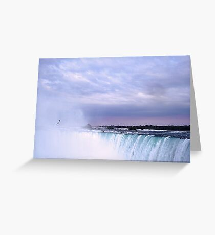 Soaring in the Mist Greeting Card