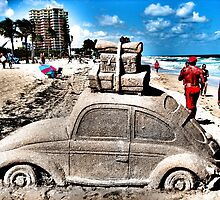 Sunburned with Volkswagen  Bug by GolemAura