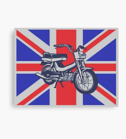 SCOOTER-UK Canvas Print