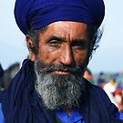 Man in Blue by RajeevKashyap