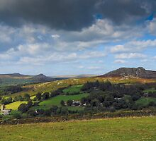 Sheepstor Dartmoor Devon UK by DonDavisUK
