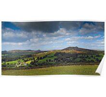 Sheepstor Dartmoor Devon UK Poster