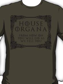 House Organa (black text) T-Shirt
