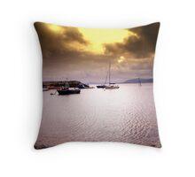 Rhos-on-Sea Bay Throw Pillow