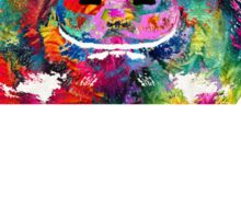 Colorful Pig Art - Squeal Appeal - By Sharon Cummings Sticker