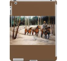 """Coming Down From Black Mountain"" iPad Case/Skin"