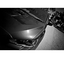 Smooth, Sinister Curves Photographic Print