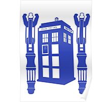 Tardis & Sonic Screwdrivers Poster