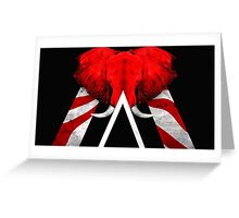 Seven Nation Greeting Card