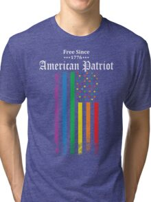 Free Since 1776 - American Patriot Tri-blend T-Shirt
