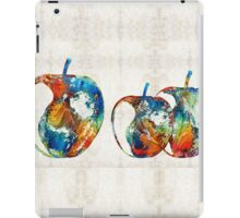 Colorful Apples by Sharon Cummings iPad Case/Skin