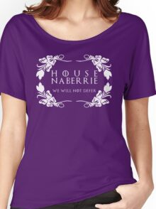 House Naberrie (white text) Women's Relaxed Fit T-Shirt