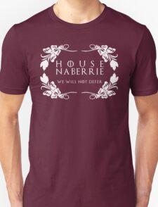 House Naberrie (white text) Unisex T-Shirt