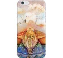 summer clouds iPhone Case/Skin