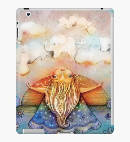 summer clouds iPad Case/Skin