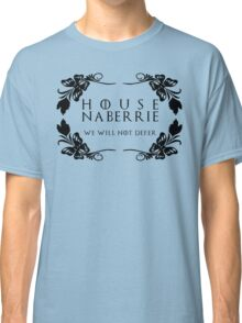 House Naberrie (black text) Classic T-Shirt