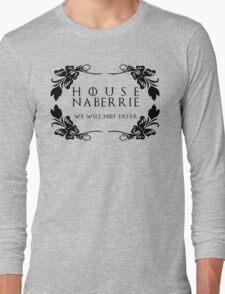 House Naberrie (black text) Long Sleeve T-Shirt
