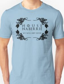 House Naberrie (black text) Unisex T-Shirt